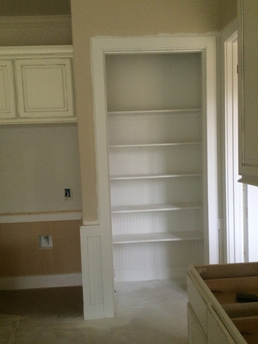 doorless pantry